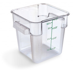 StorPlus Square Polycarbonate Food Storage Containers