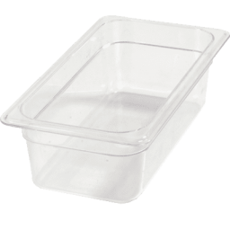 Insert 1/3 Size 4″ Deep, Polycarbonate