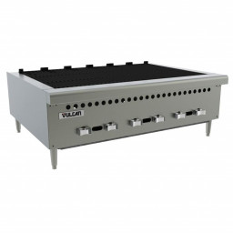 Charbroiler, 36″ (6) Cast Iron Burners, Counter Top