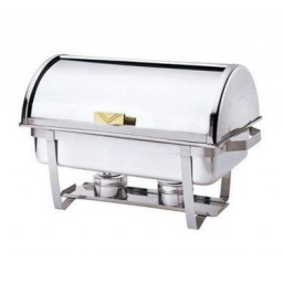 Economy Roll Top Full Size Chafer, 9 qt / 8.5L
