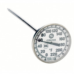 Large Face Steam Table Thermometer- T220-38A