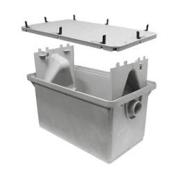 Grease Interceptor 25 Gallon Grease Trap, – Endura
